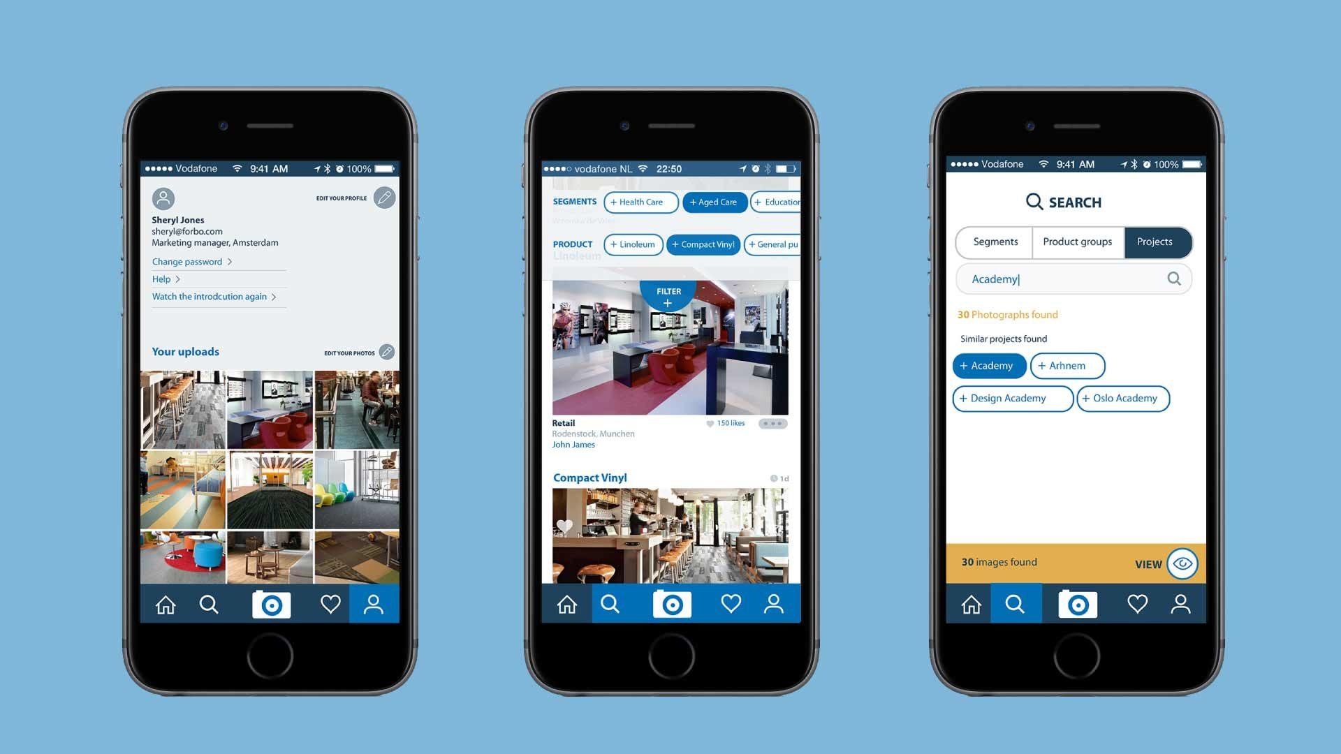 Pinboard app voor Forbo Flooring in meer dan 30 landen gelanceerd