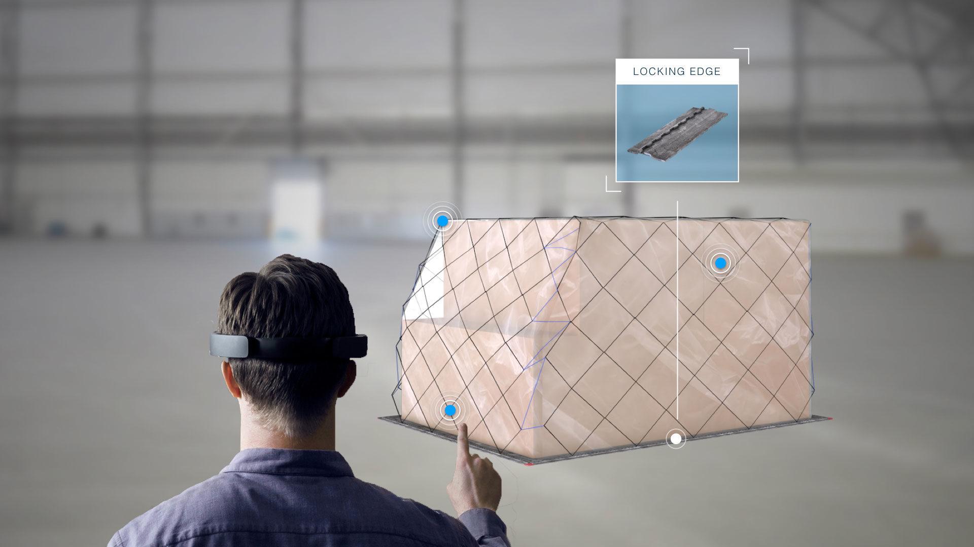 KLM Cargo HoloLens Training