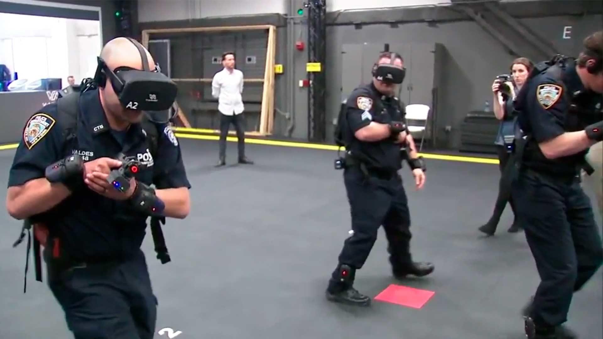 Lifesaving NYPD training in Virtual Reality.