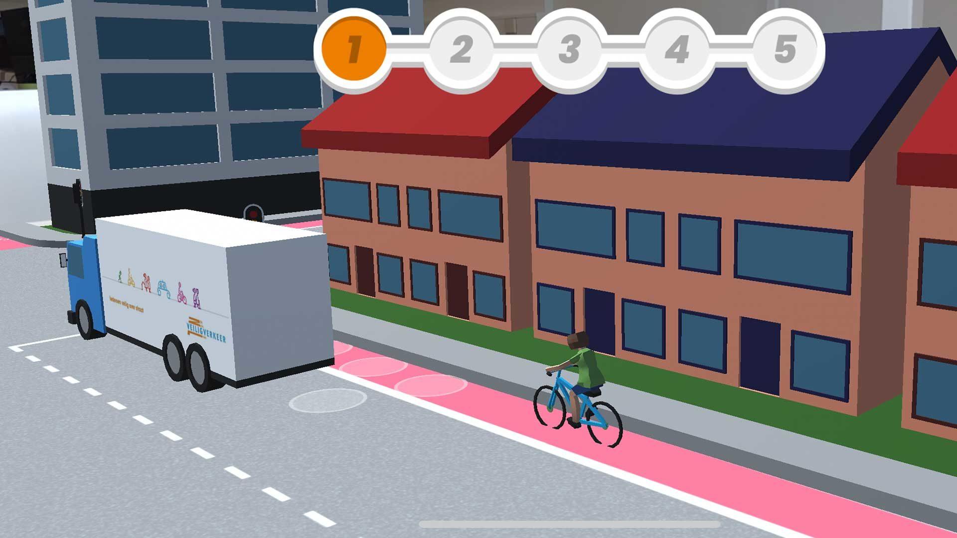 Veilig Verkeer Nederland lanceert gratis app 'Uit de hoek'